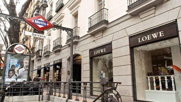 Tiendas en el Barrio de Salamanca de Madrid