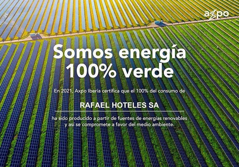 AXPO IBERIA - WE ARE 100% GREEN ENERGY